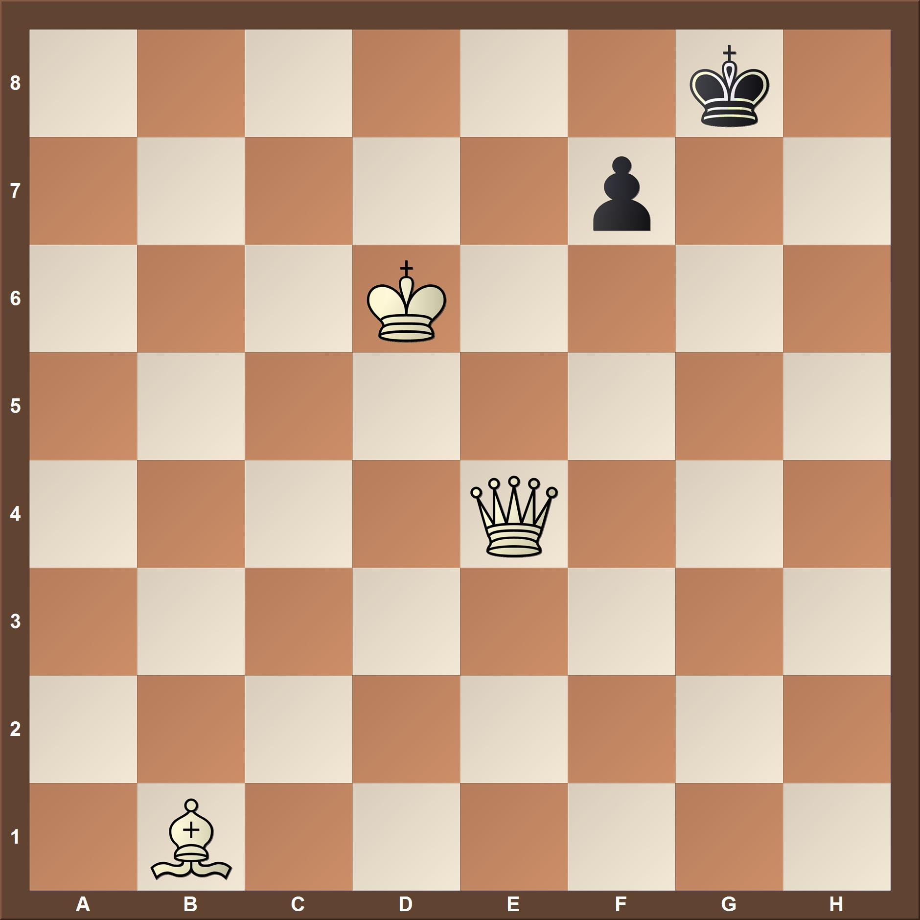 Checkmate in two move